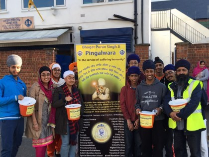 Nagar Kirtans at Gravesend, Southall City