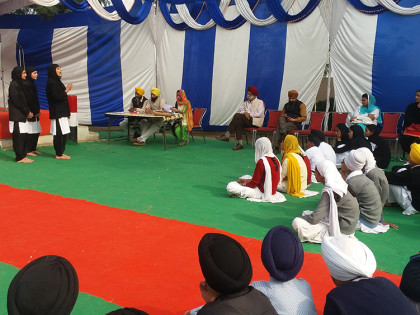 Annual District Level Gurmat Competition