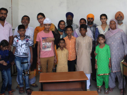 TarnTaran District gets its first school for the deaf children