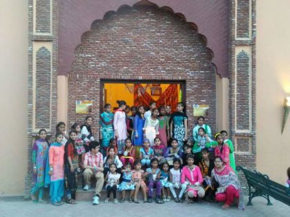 Children of Pingalwara Invited by Sadda Pind