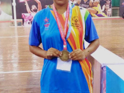 Pingalwara Daughter Wins gold medal for india